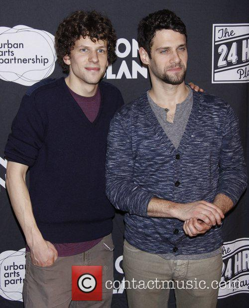 Jesse Eisenberg and Justin Bartha 1