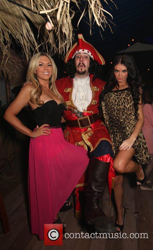 Frankie Essex and Chloe Sims The Captain Morgan's...