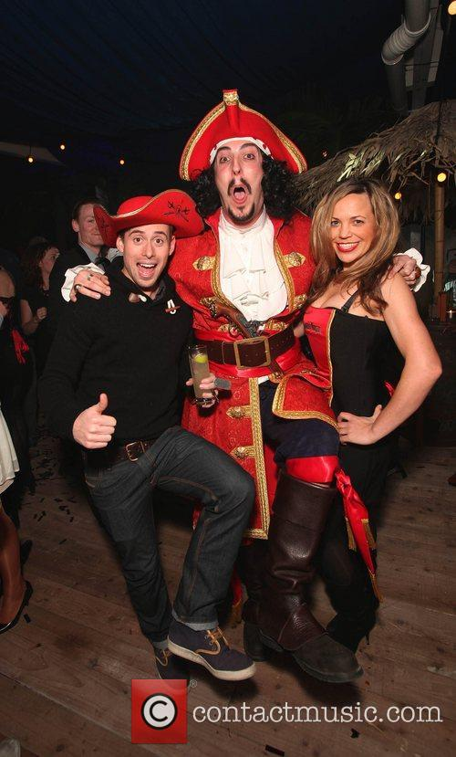 The Captain Morgan's Spiced beach party held at...