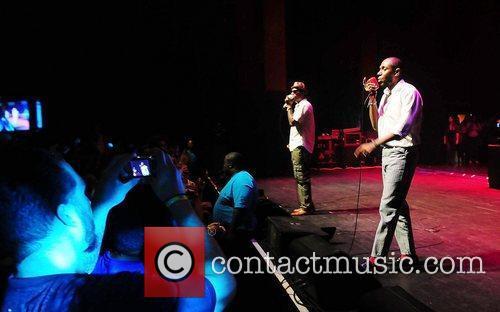 Talib Kweli, Jackie Gleason and Mos Def 5