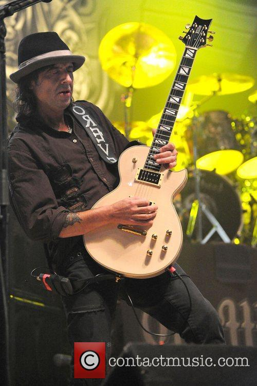 Phil Campbell of Motorhead performing at the Wolverhampton...