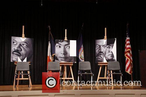 Press conference for the Broadway production of 'The...