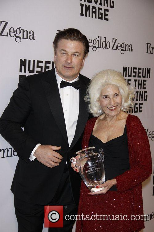 Alec Baldwin and Rochelle Slovin Museum of The...