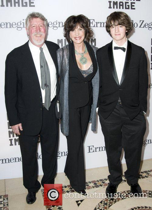 Mercedes Ruehl and Family Museum of The Moving...