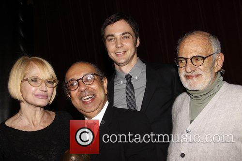 Ellen Barkin, George C Wolfe and Jim Parsons 3