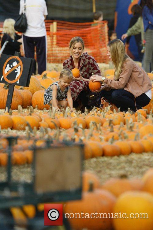 Kristin Cavallari at Mr Bones Pumpkin Patch in...