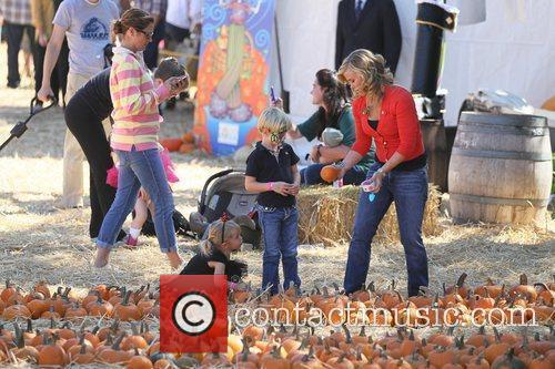 Alison Sweeney Celebrities attend the opening day at...