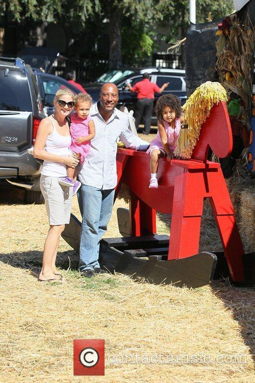 Celebrities attend opening day at Mr. Bones Pumpkin...