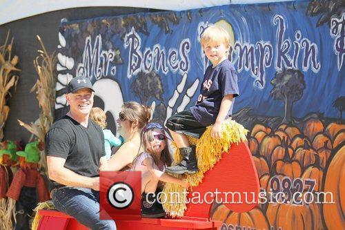 Celebrities attend the opening day at Mr. Bones...