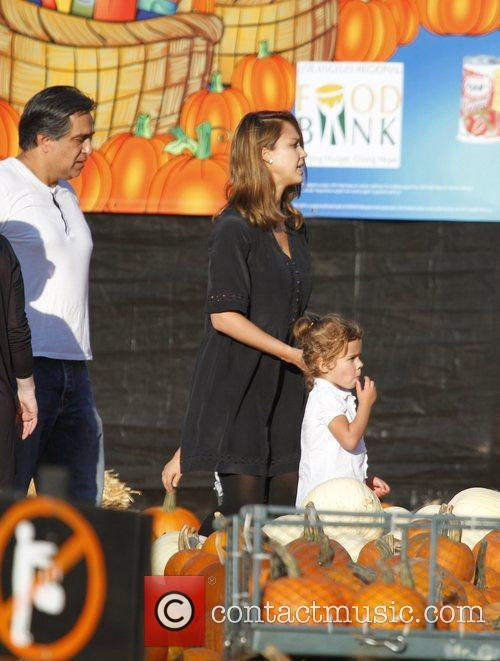 jessica alba with daughter honor at mr 3562818