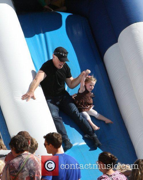 Neal McDonough Celebrities attend the opening day at...
