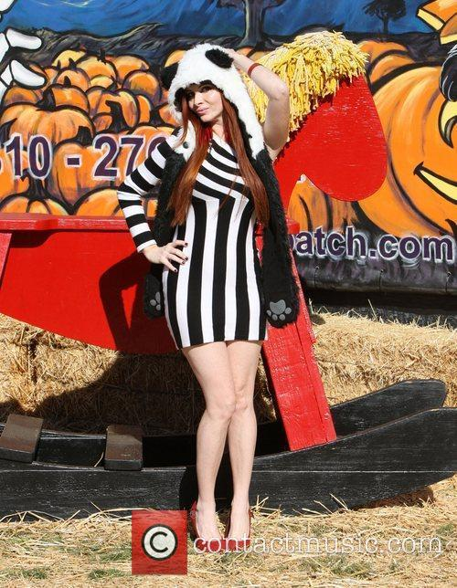 Phoebe Price Celebrities attend the opening day at...