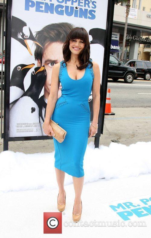 Carla Gugino Premiere 'Mr. Popper's Penguins' shown at...