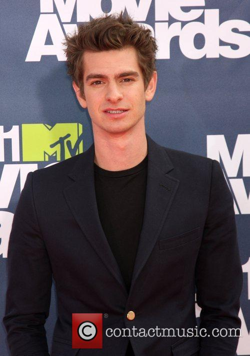 Andrew Garfield 2011 MTV Movie Awards at the...