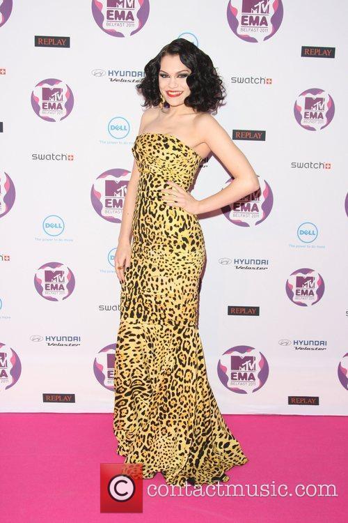 Jessie J and Mtv European Music Awards 2