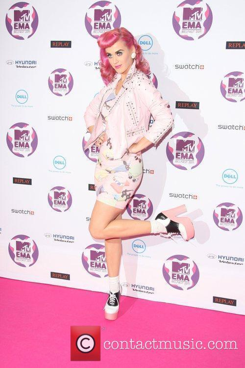 Katy Perry and Mtv European Music Awards