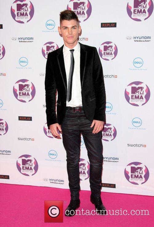 Kieron Richardson and Mtv European Music Awards