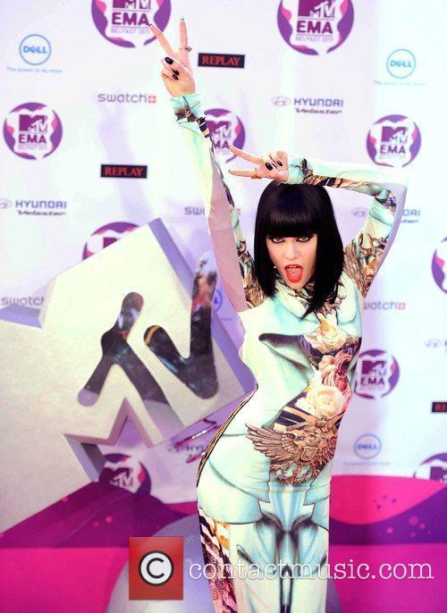 Jessie J and Mtv European Music Awards 1