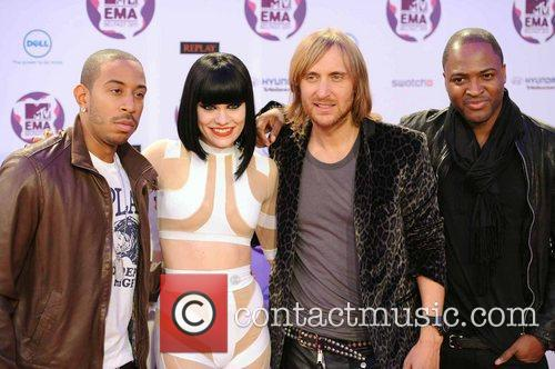 Ludacris, David Guetta, Jessie J, Taio Cruz and Mtv European Music Awards 8