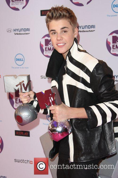 Justin Bieber and Mtv European Music Awards 2