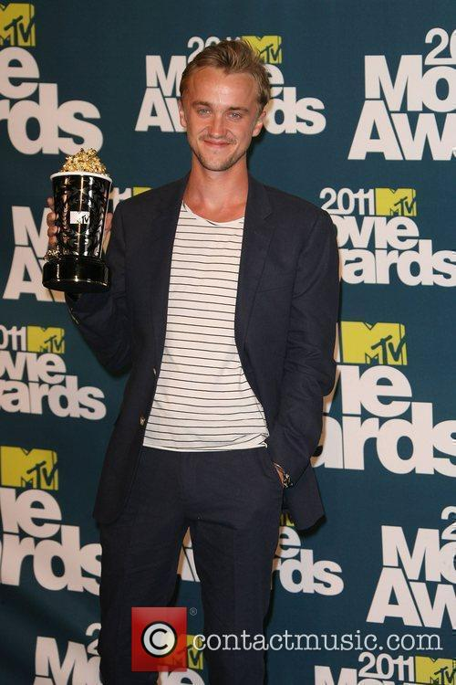 tom felton and emma watson mtv movie awards 2011. HQ Tom Felton Pictures: 2010 tom felton and jade mtv movie awards 2011.
