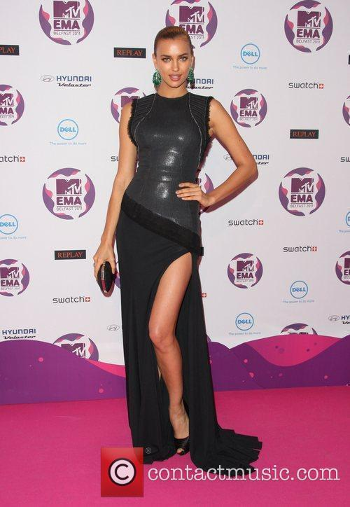 Irina Shayk and Mtv European Music Awards 3