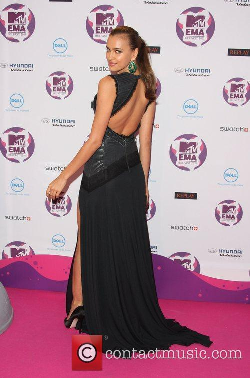 Irina Shayk and Mtv European Music Awards 2