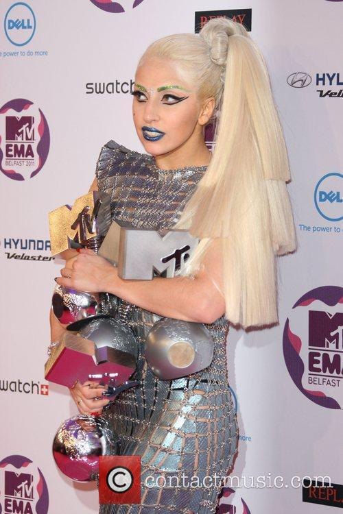 Lady Gaga and Mtv European Music Awards 3
