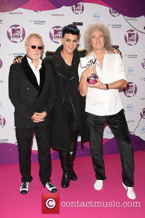 Adam Lambert, Brian May and Roger Taylor 2