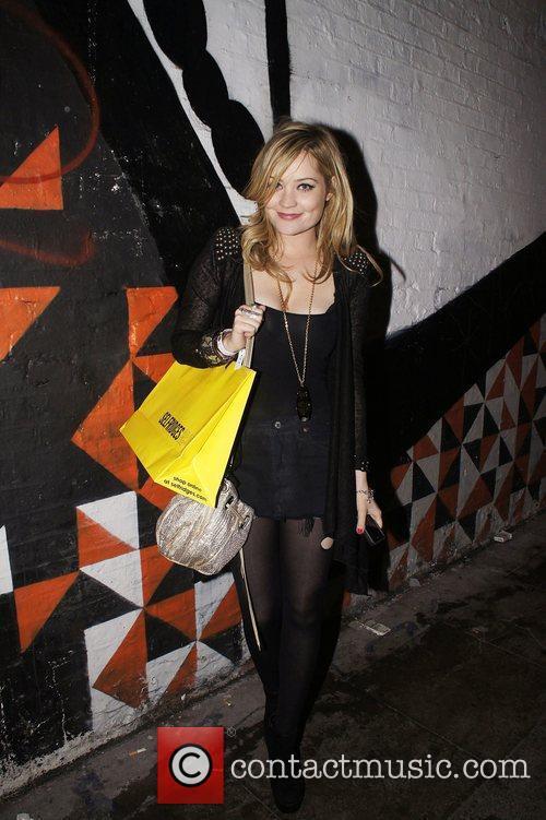 Laura Whitmore  leaving the MTV Push &...