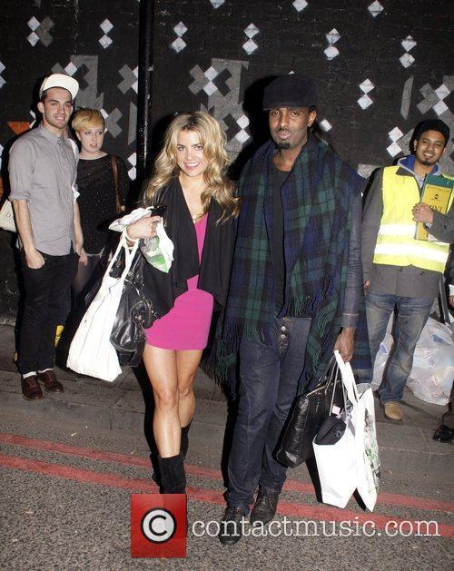 Mason Smillie And Natalie  leaving the MTV...