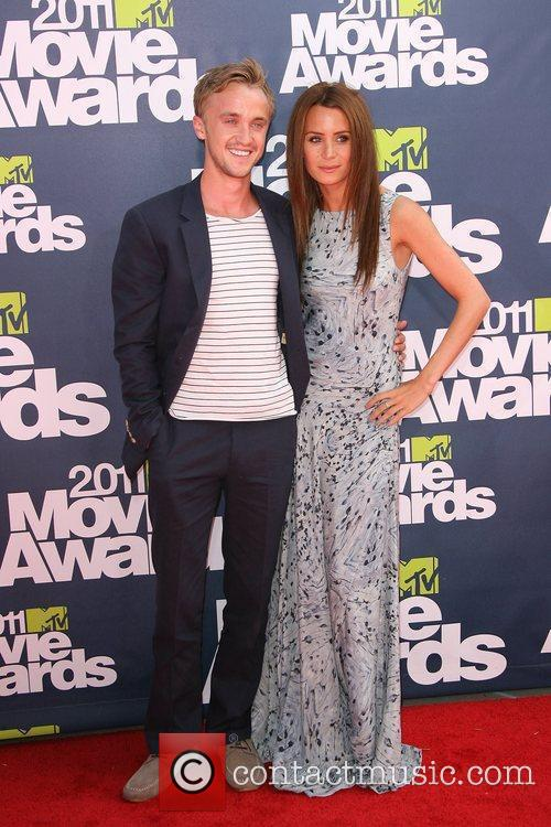 tom felton 2011 mtv movie awards. Tom Felton and Jade Olivia