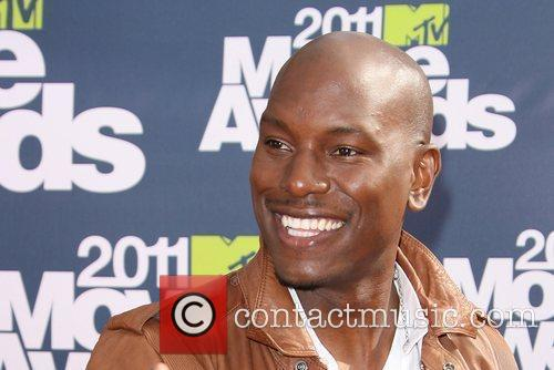 Tyrese 2011 MTV Movie Awards - Arrival held...