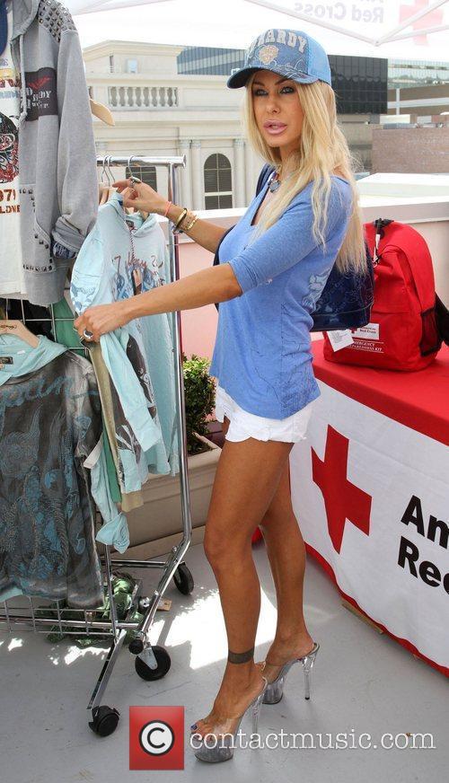 Melanie Segal's Red Cross Prepare LA Trend Lounge...