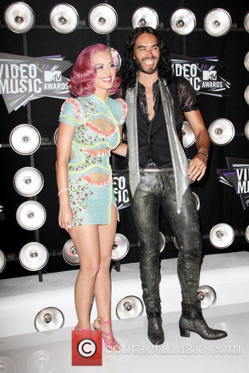 Katy Perry and Russell Brand 3