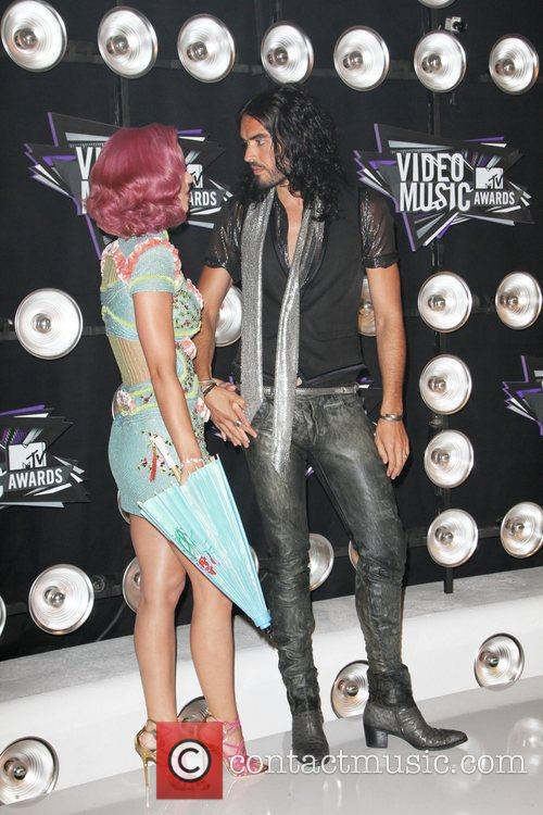 Katy Perry and Russell Brand 4