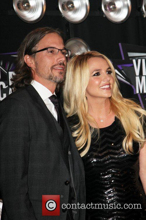 Britney Spears and Jason Trawick 2011 MTV Video...