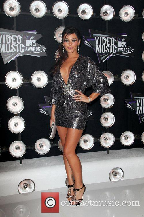 Jenni Farley aka 'JWOWW' 2011 MTV Video Music...