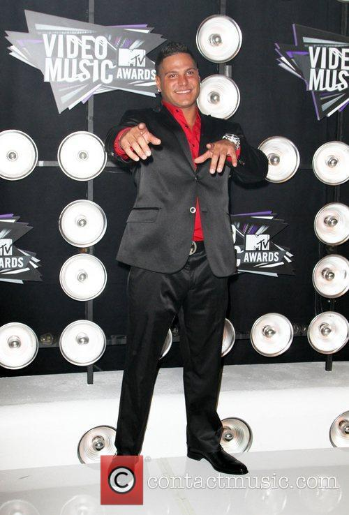 Ronnie Ortiz 2011 MTV Video Music Awards held...