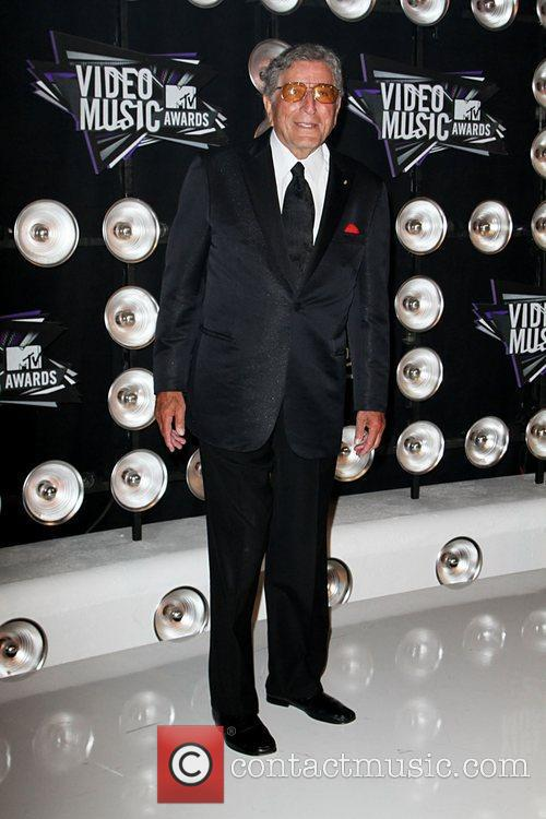 Tony Bennett 2011 MTV Video Music Awards held...