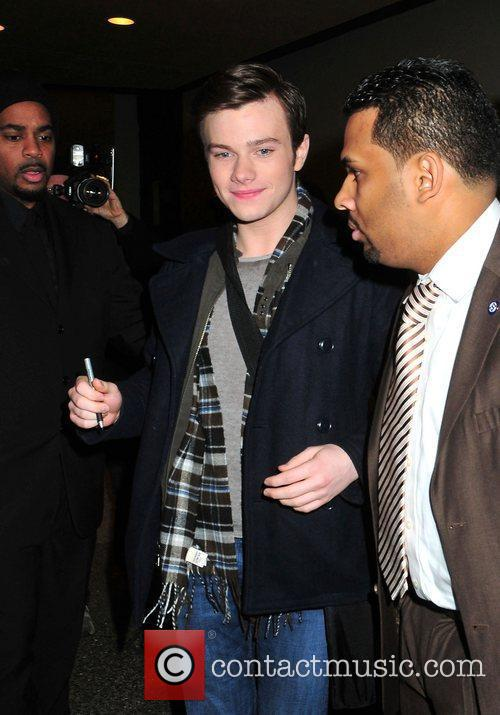 Chris Colfer and Mtv 3