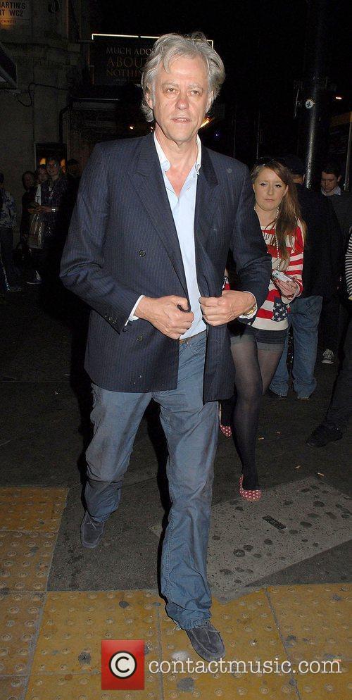 Bob Geldof,  at the 'Much Ado About...