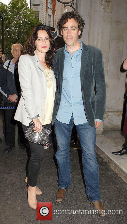 Louise Delamere and Stephen Mangan,  at the...