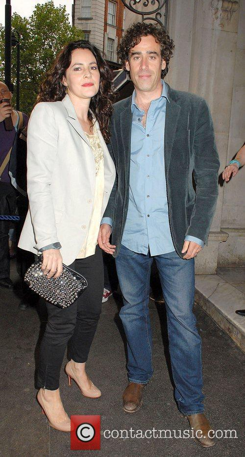 At the 'Much Ado About Nothing' press night...