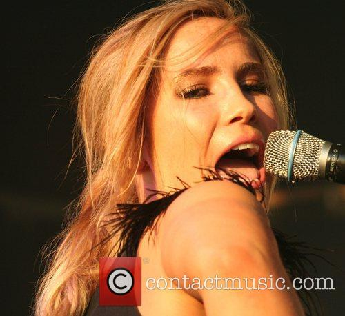 Heidi Range of Sugababes 'Music On The Hill'...