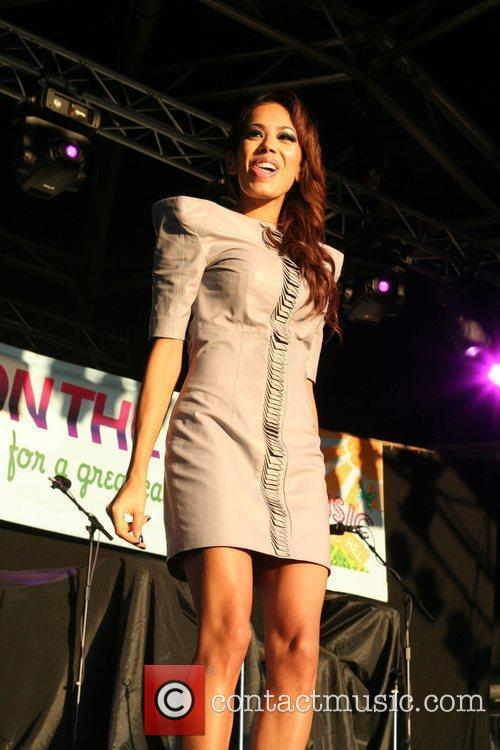 Jade Ewan of Sugababes 'Music On The Hill'...