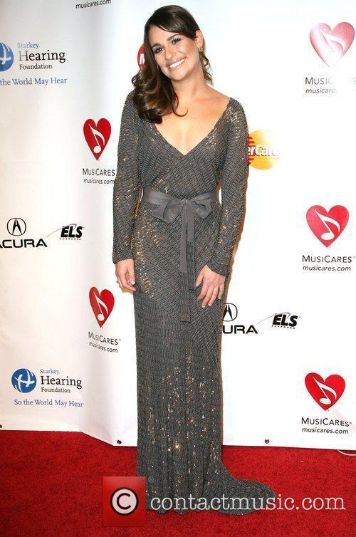 Lea Michele 2011 MusiCares Person of the Year...