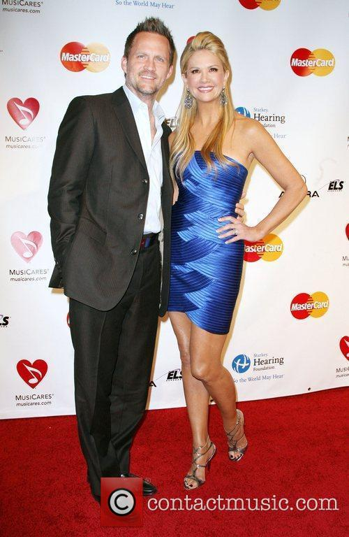 Nancy O'Dell and Keith Zubulevich 2011 MusiCares Person...