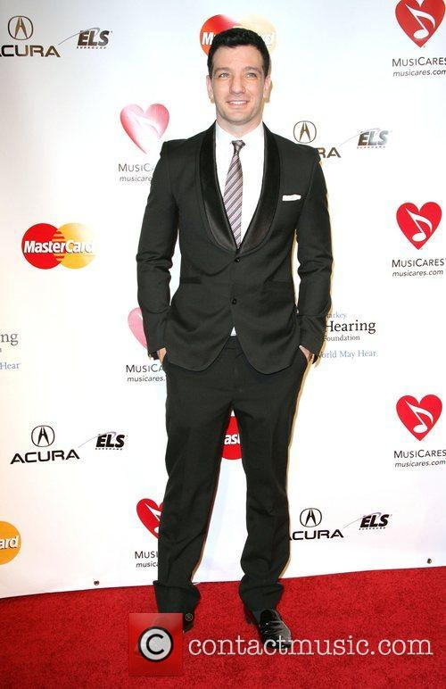 J.C. Chasez 2011 MusiCares Person of the Year...