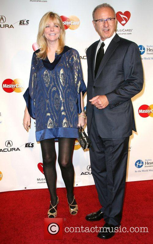 Cheryl Tiegs and Guest 2011 MusiCares Person of...
